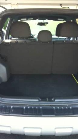 Luggage Room Ford Escape