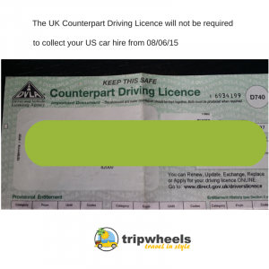UK counterpart driving licence