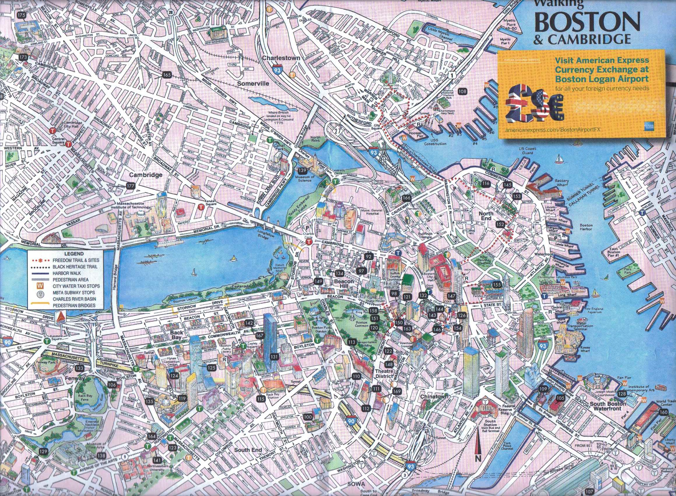 Typical Tourist Map