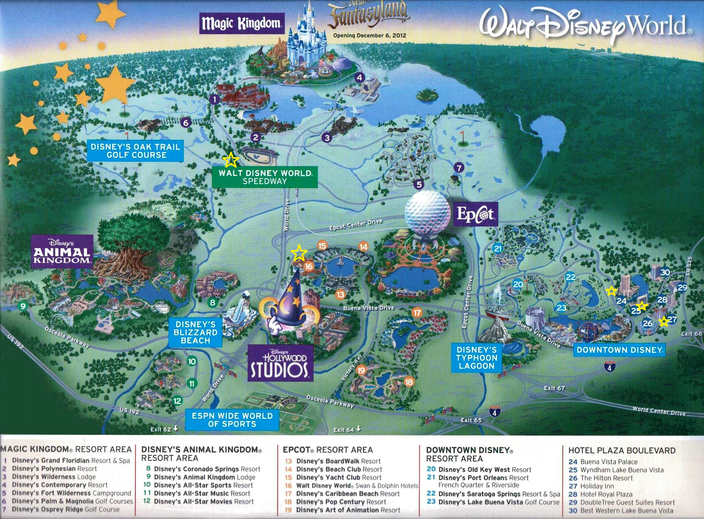 Disney Car Hire Options